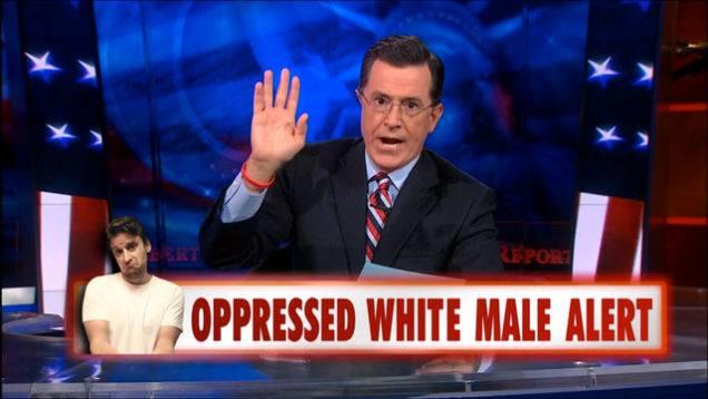 oppressed white male