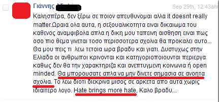 hate brings more hate
